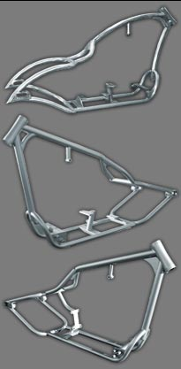Thompson Choppers Chopper Motorcycle Amp Bagger Frames